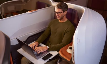 New Business Cabin – Singapore Airlines A380