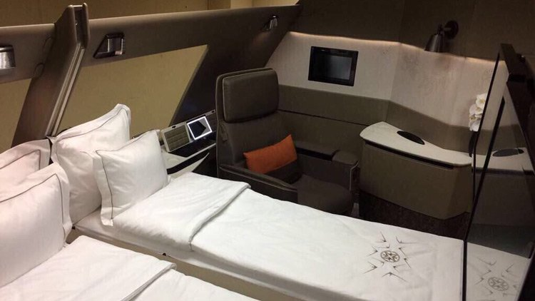 UPDATED Even more leaked photos of new Singapore Airlines First Class Suites. Squeal!