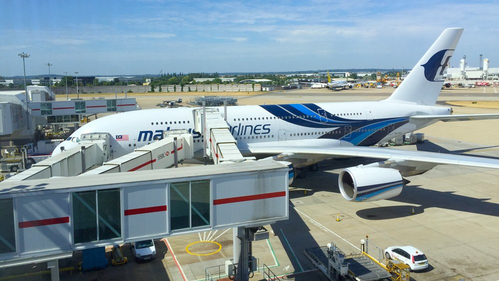 What A380 game is Malaysian playing?