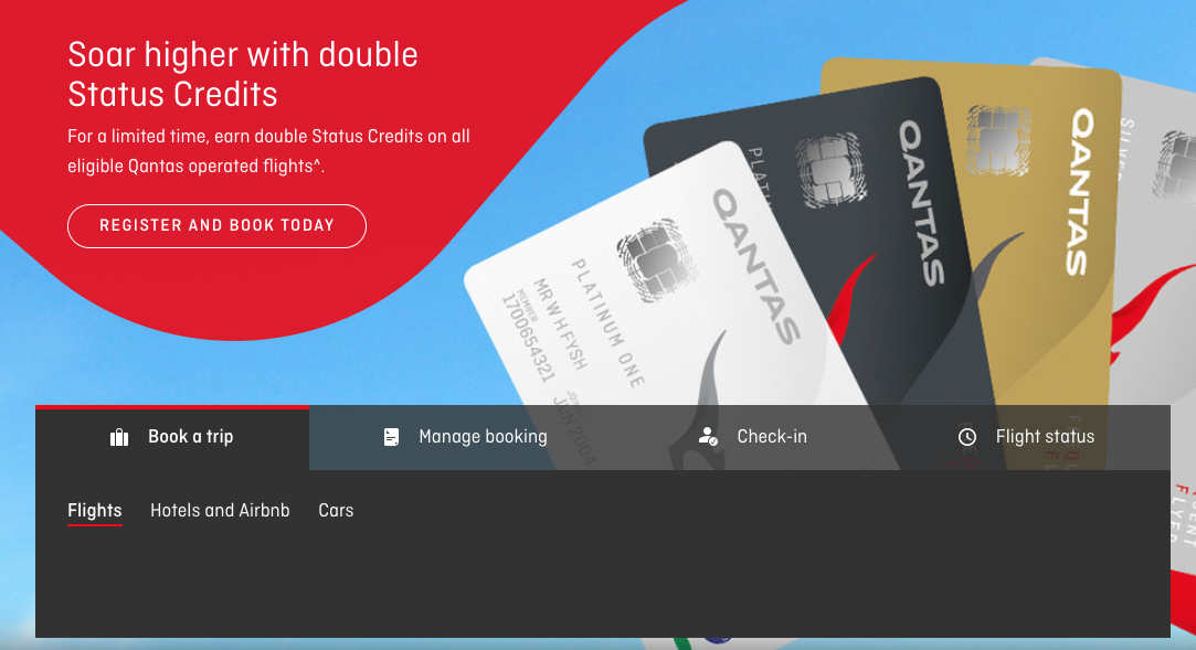 Qantas Double Status Credits: It's ON from Today August 9 to 14