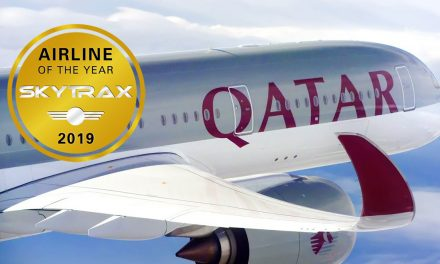 Skytrax Best Airline 2019 is . . .