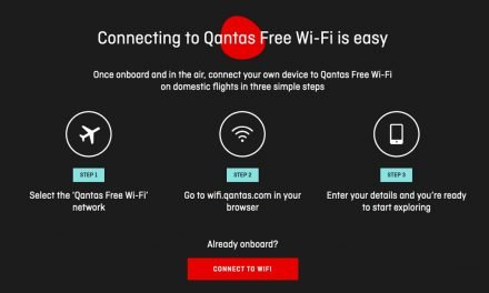 QANTAS: Food, Beverage and WiFi are back!