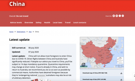 China: Foreign Affairs warns about arbitrary detention