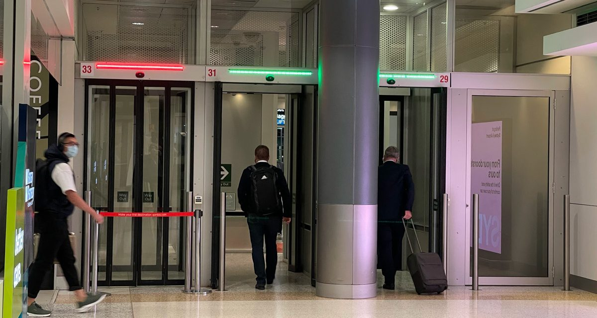 Sydney Airport: who is responsible for fixing this security door?